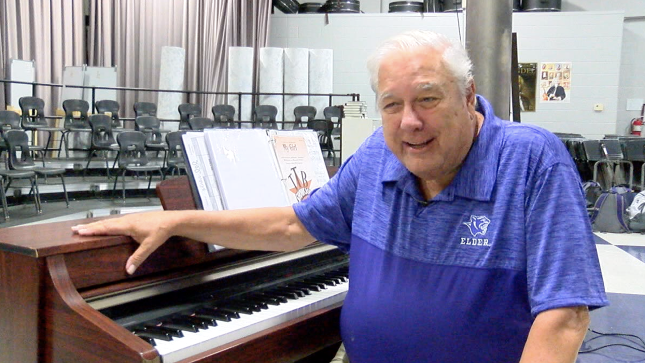 This music man has taught Elder's glee club for 50 years