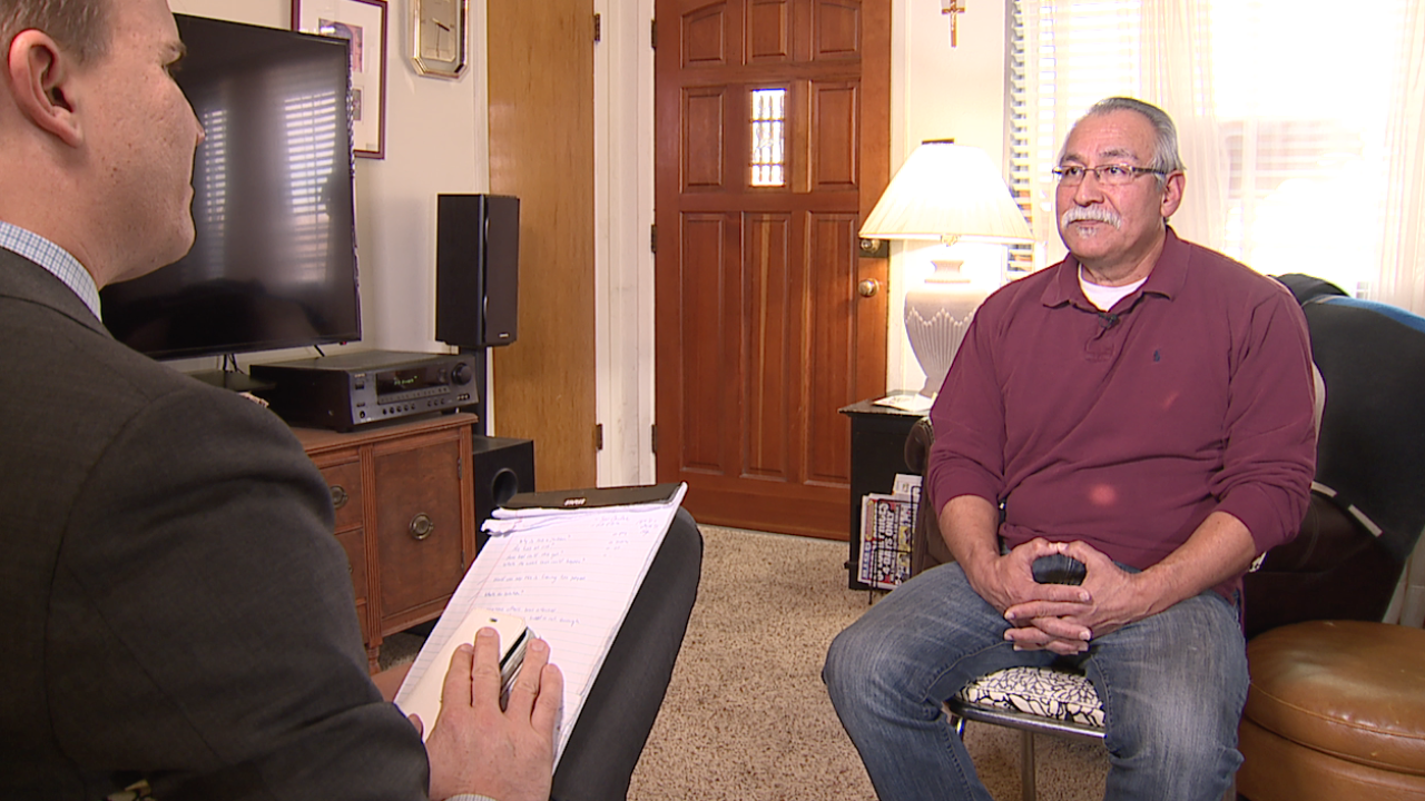 Former corrections officer Roberto Aguirre speaks to Denver7's Jace Larson