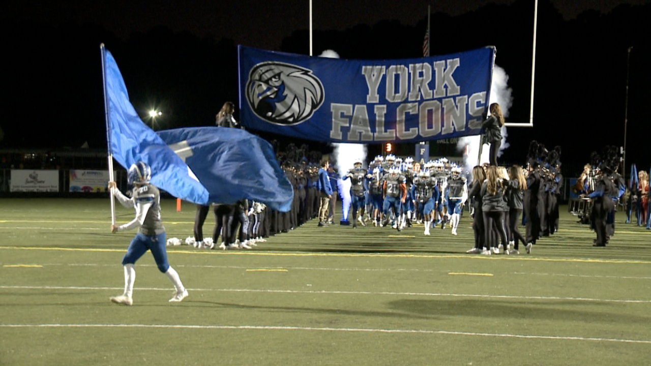 757 Showdown: York beats Warhill to remain undefeated, advances to 9-0 on the season