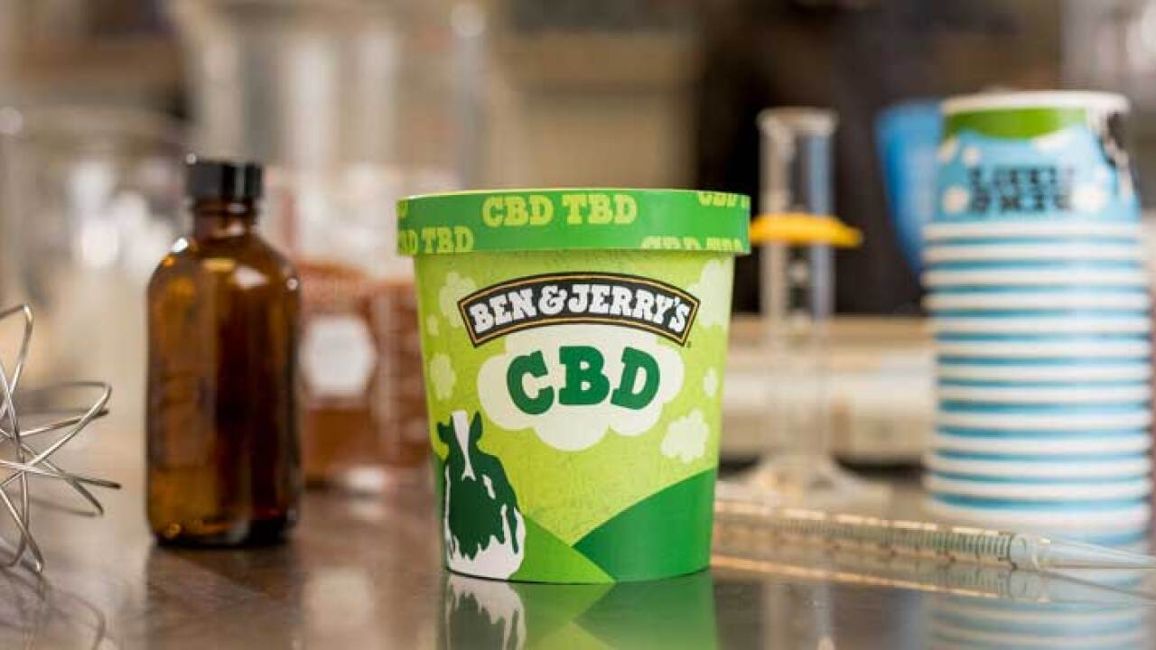 Ben & Jerry's introduces CBD-infused ice cream — but the FDA has to approve it first