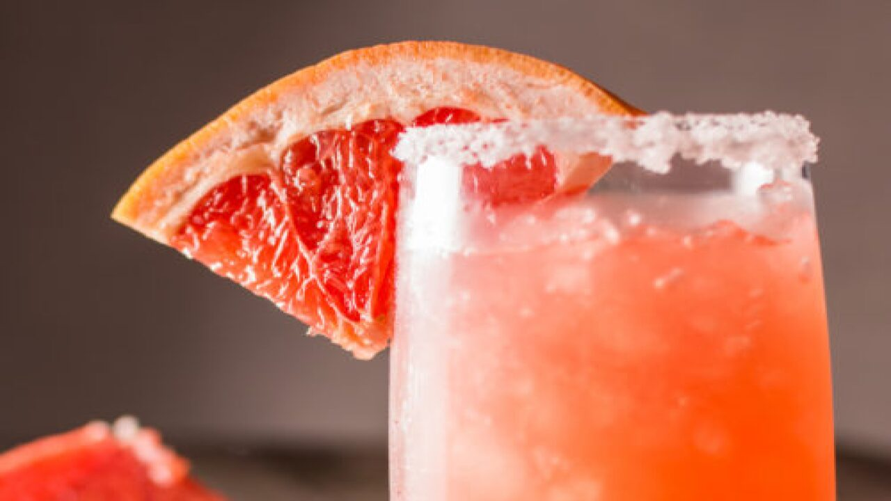 This Frozen Grapefruit Margarita Recipe Sounds So Refreshing