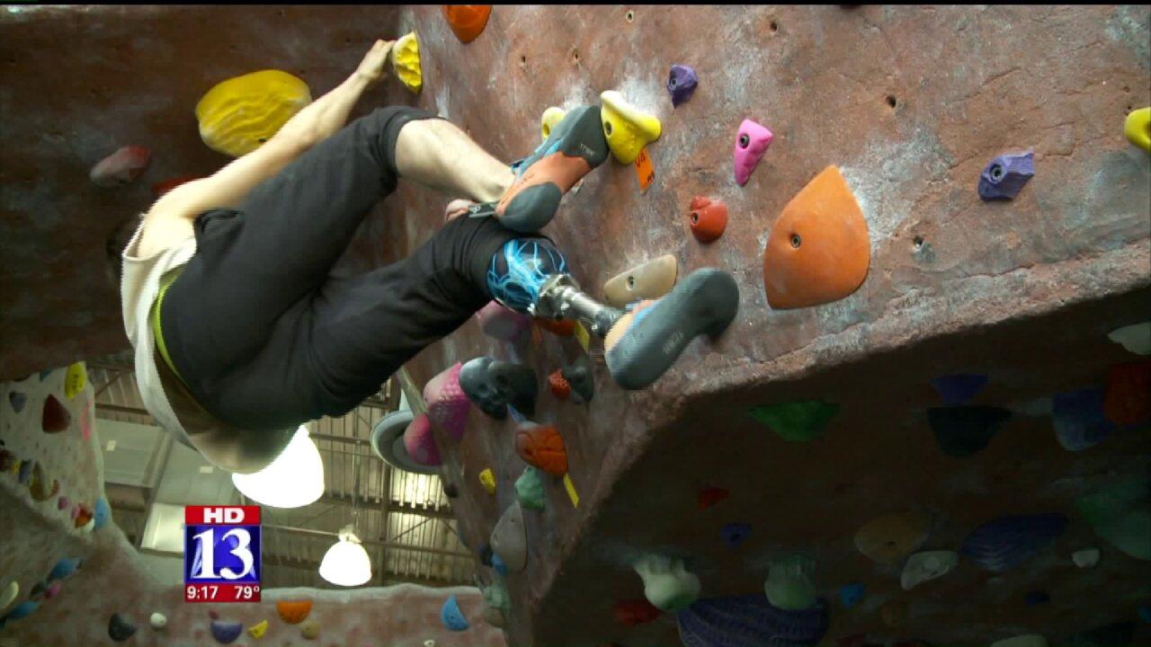 Pair of Utah amputees climb to new heights after swappingexpertise