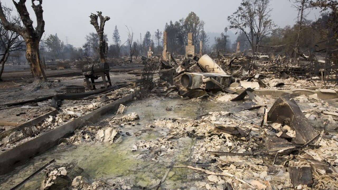 Wildfires ravage Northern California