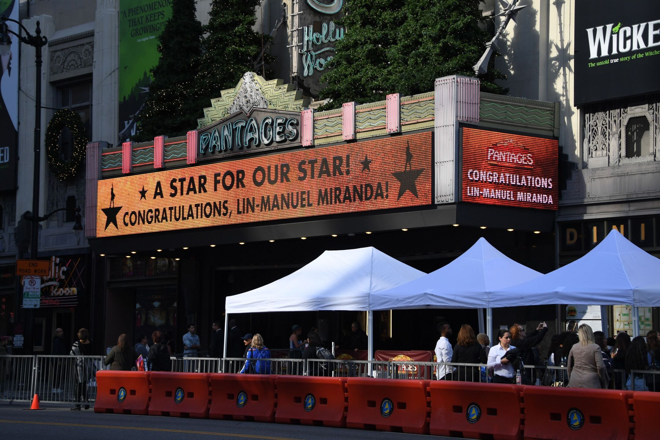 Photos: Lin-Manuel Miranda receives star on Hollywood Walk of Fame