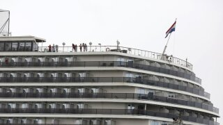 American aboard cruise ship docked in Cambodia diagnosed with COVID-19