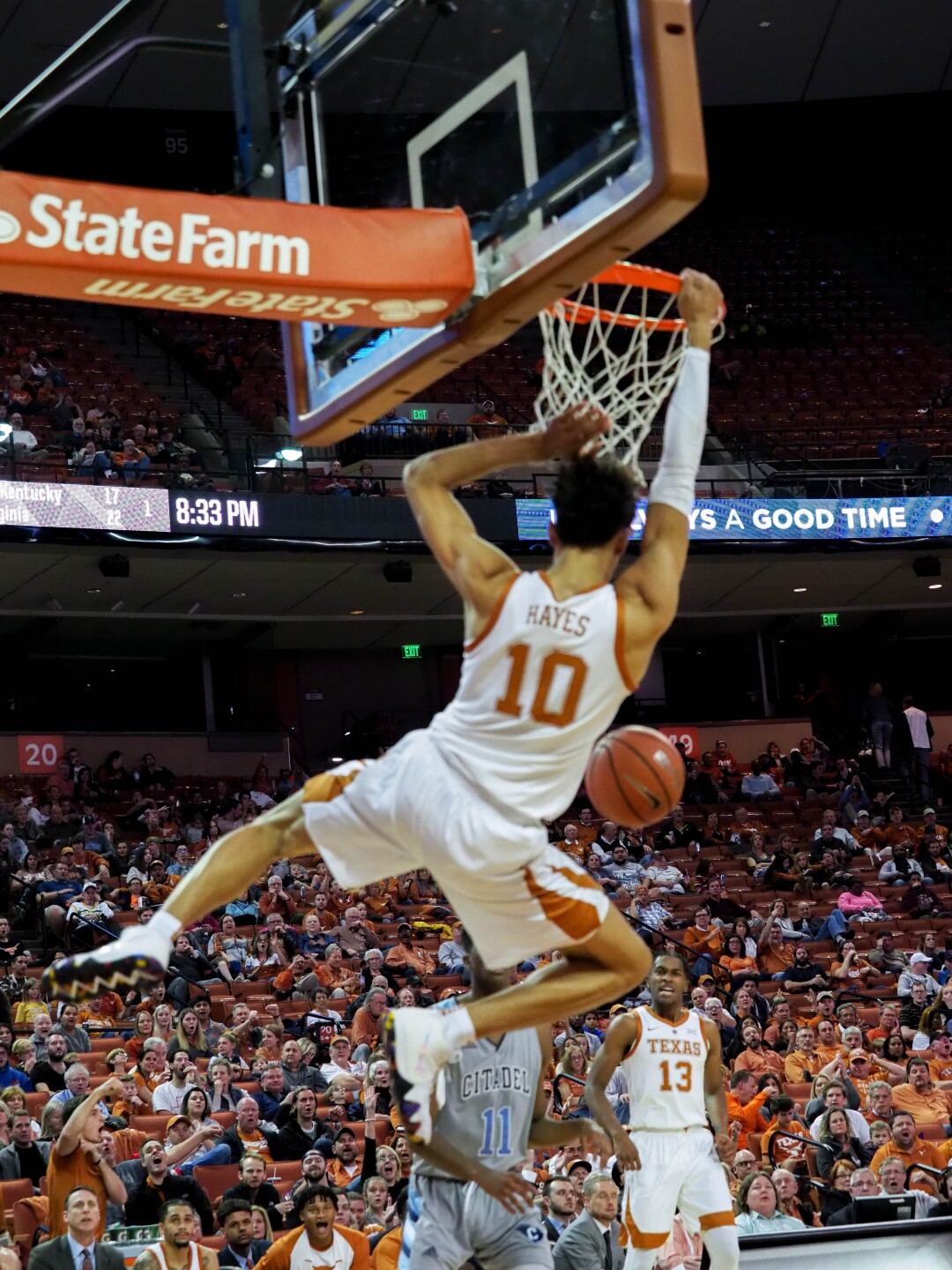Texas freshman forward Jaxson Hayes, a 2018 Moeller graduate, is projected to be a lottery pick in the NBA Draft June 20.