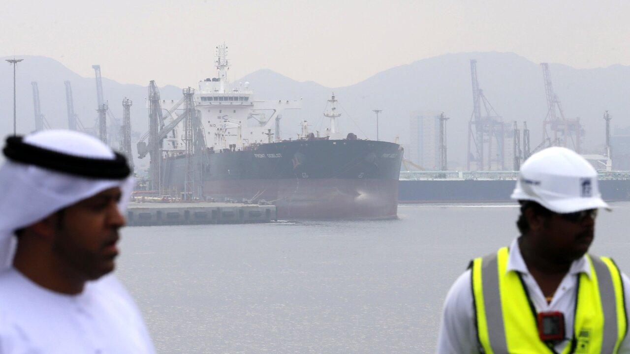 Saudi oil tankers 'sabotaged' as U.S.-Iran tensionsincrease