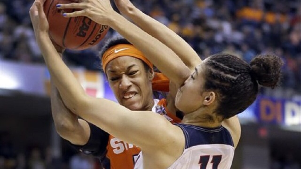 UConn beats 'Cuse: 4th straight national title