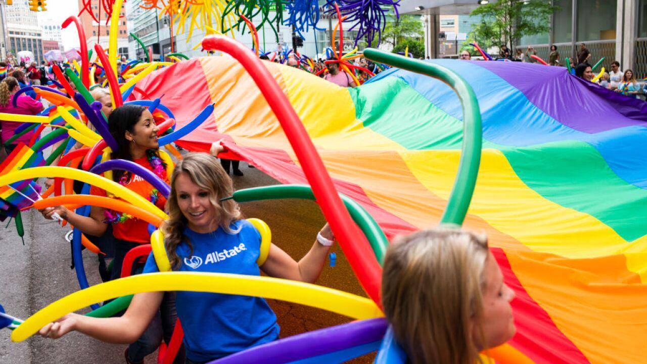 Detroit annual gay pride parade