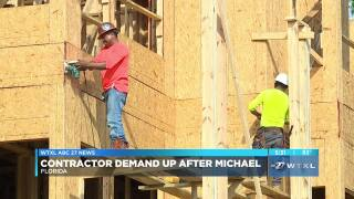 Hurricane Michael likely adding to skilled worker shortage across Florida