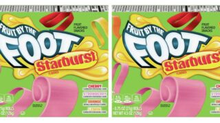 You Can Now Buy Starburst-flavored Fruit By The Foot