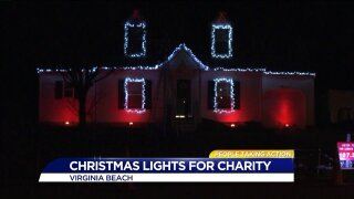People Taking Action: Virginia Beach teenager takes action with holiday lights!