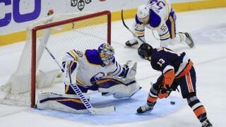 APTOPIX Sabres Islanders Hockey