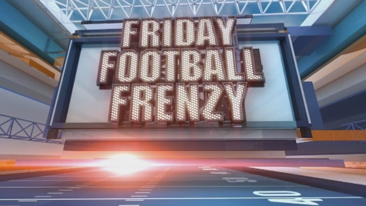 Indiana high school football schedule for Friday, Sept. 8
