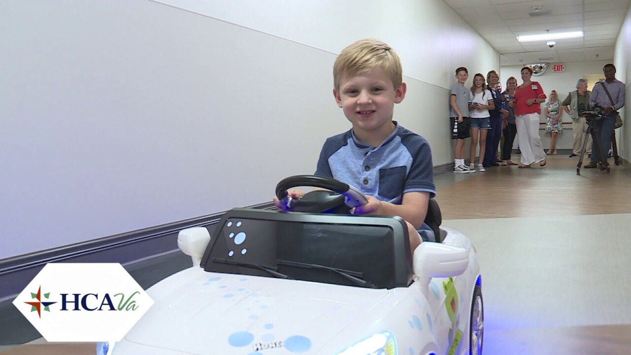 Why little kids are driving little cars around ChippenhamHospital