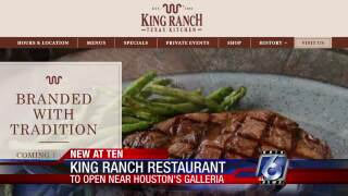 First King Ranch Texas Kitchen coming to Houston