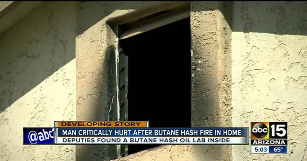 PCSO investigating after butane hash oil lab fire in San Tan