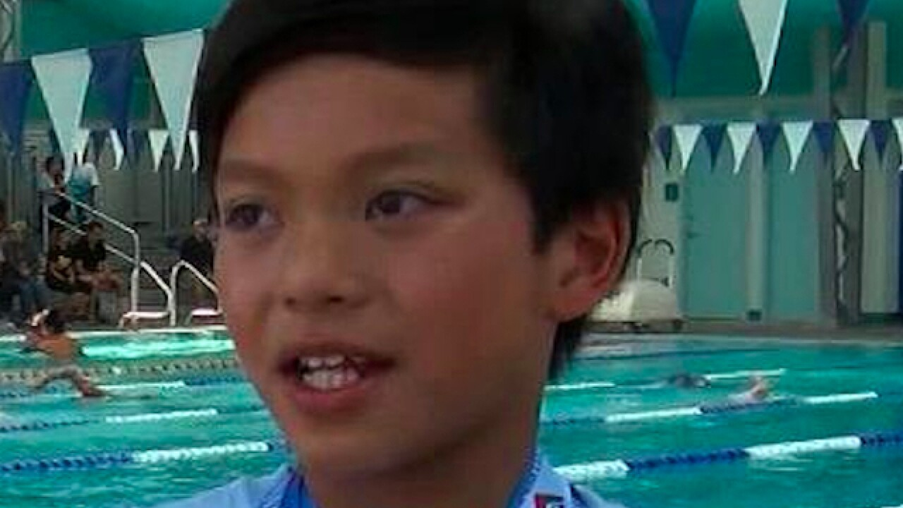 10-year-old named Clark Kent beats record Michael Phelps held for 23 years