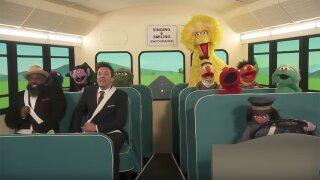 Jimmy Fallon Sesame Street