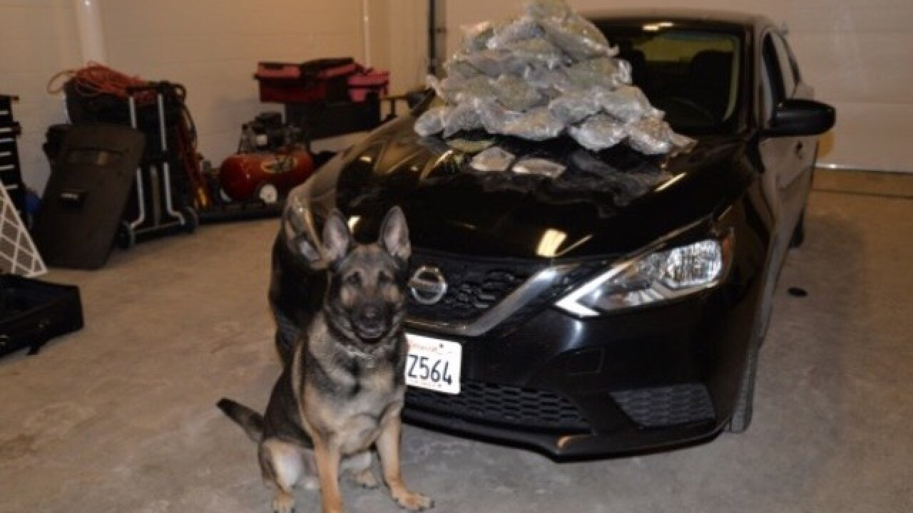 Meth, marijuana seized on I-80 in separate busts