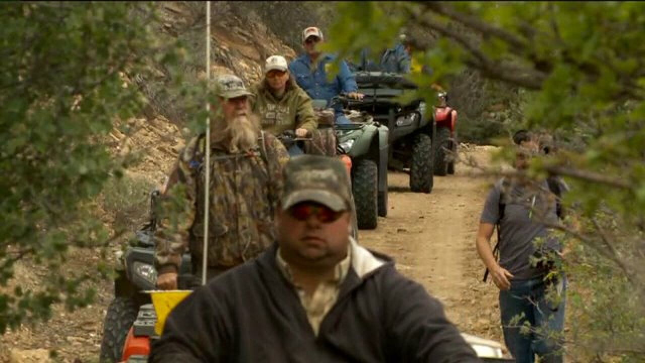 Protesters ride ATVs through canyon despite ban, BLM officials document illegal activity