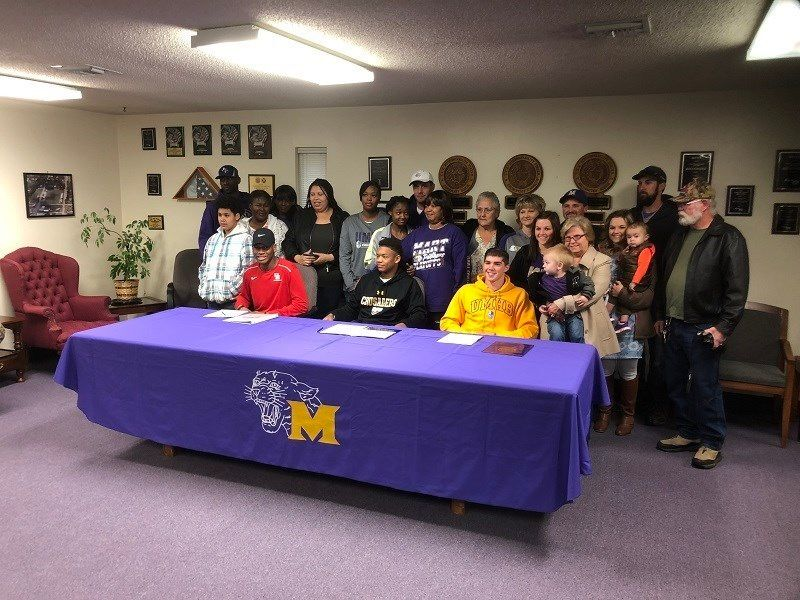Mart High School Signing Day