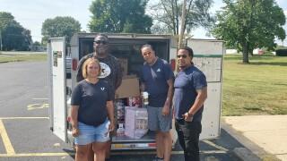 FUDGE Foundation helps hurricane victims