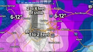 March 11 2021 look at upcoming snowstorm