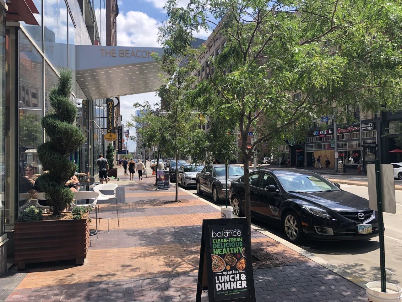 Euclid Avenue Downtown Cleveland