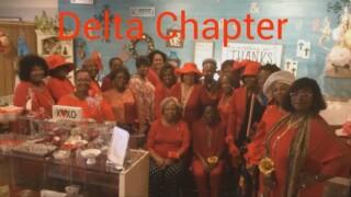 Eta Phi Beta sorority, Delta chapter