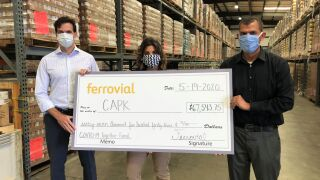 CAPK receives donation from Ferrovial