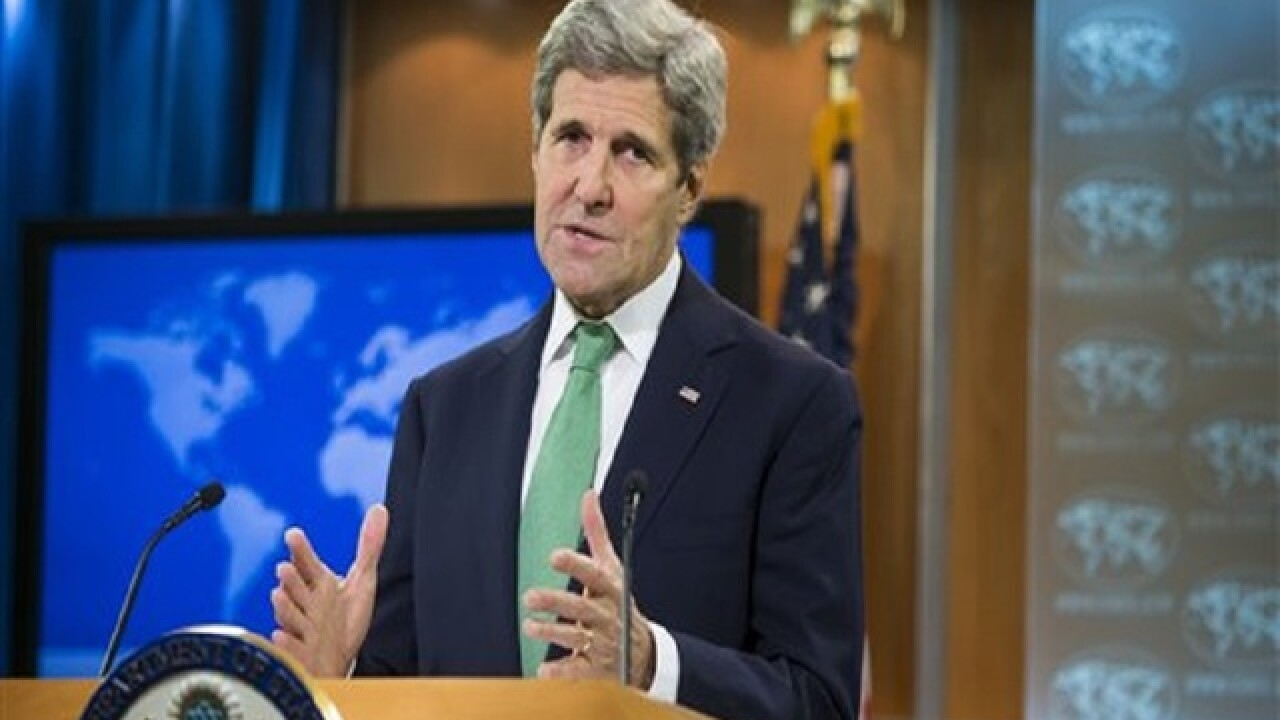 Kerry off to Russia for Syria talks after Brussels attacks