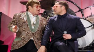 Elton John And Taron Egerton Will Perform Together At A Special Screening Of 'Rocketman'