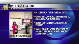 One Class At A Time: Erica Davis