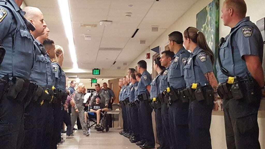 Officer Cem Duzel transferred to rehabilitation center in Denver