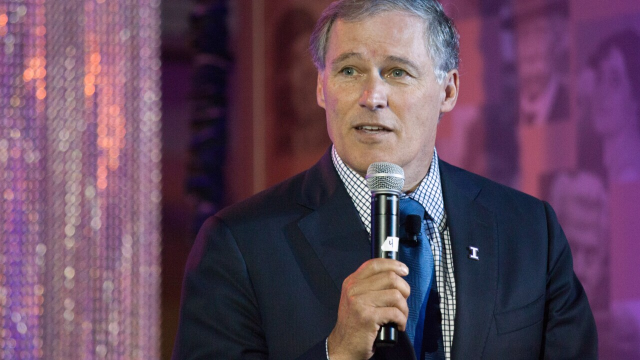 Washington Gov. Jay Inslee announces 2020 presidential bid