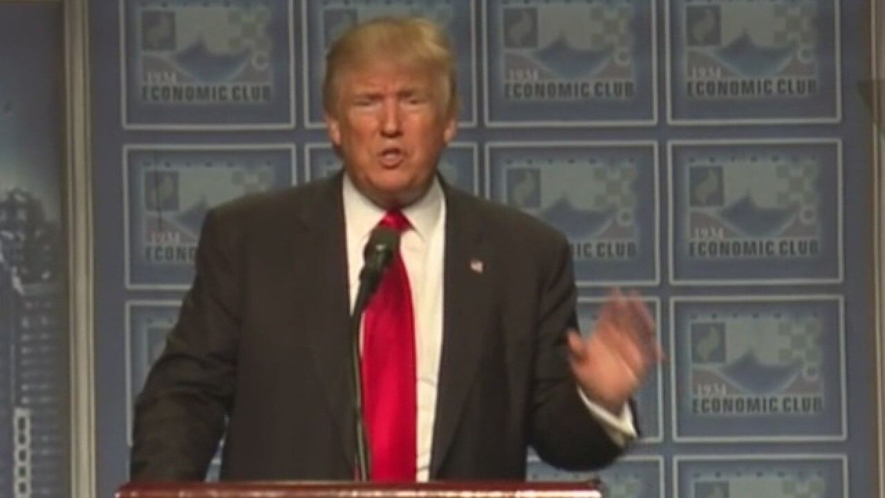 Detroit Economic Club blames Trump speech disruptions on guests of fraudulent new member