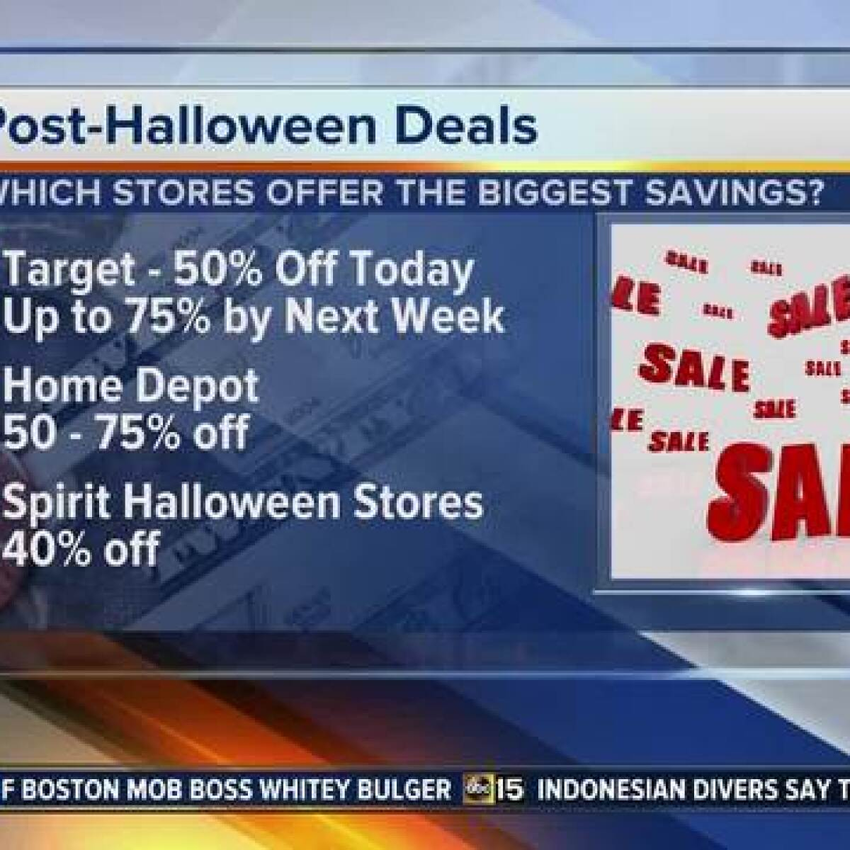 where to get up to 75 percent off halloween items