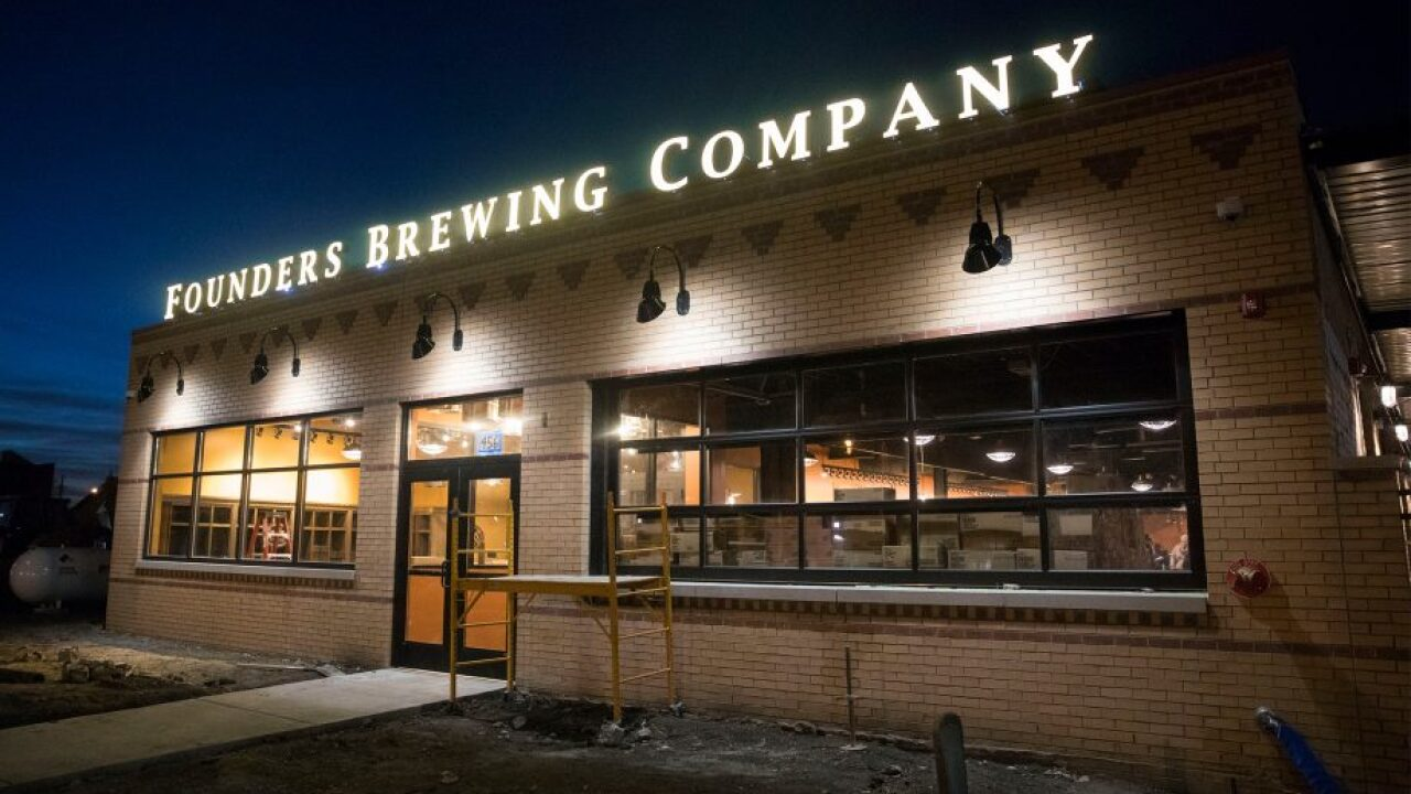 Founders Detroit taproom opening in December