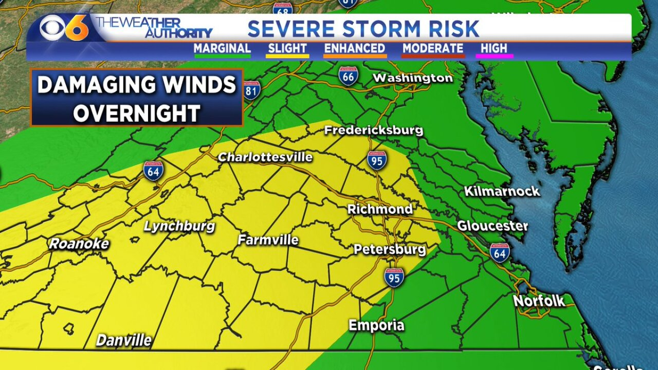 Severe weather threat hasended