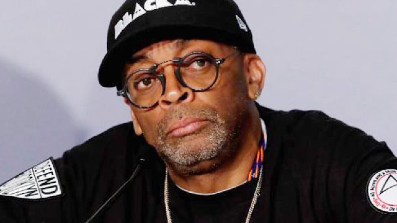 Spike Lee says he hopes his new film, 'BlacKkKlansman,' makes Donald Trump a one-term President