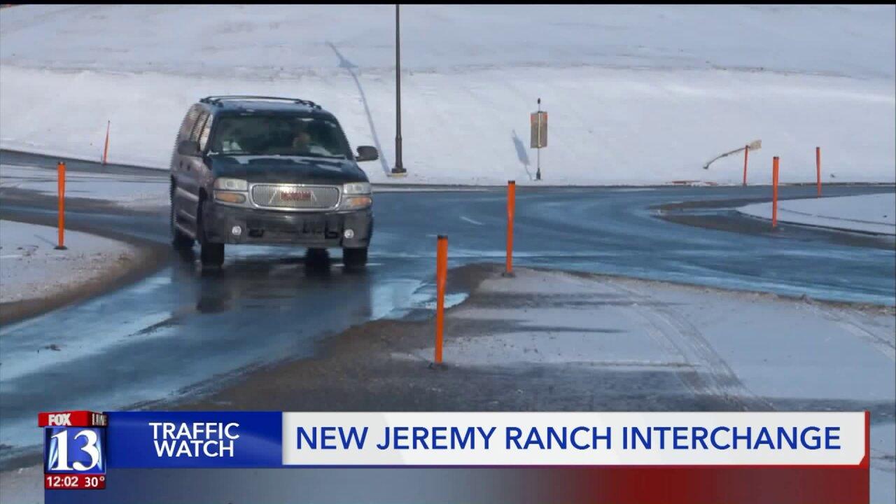 Summit County unveils new I-80/Jeremy Ranchinterchange