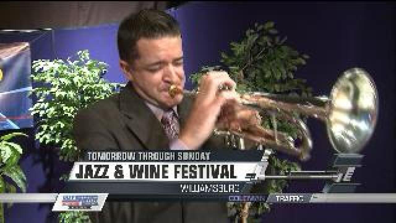 Williamsburg Jazz and Wine Festival this weekend