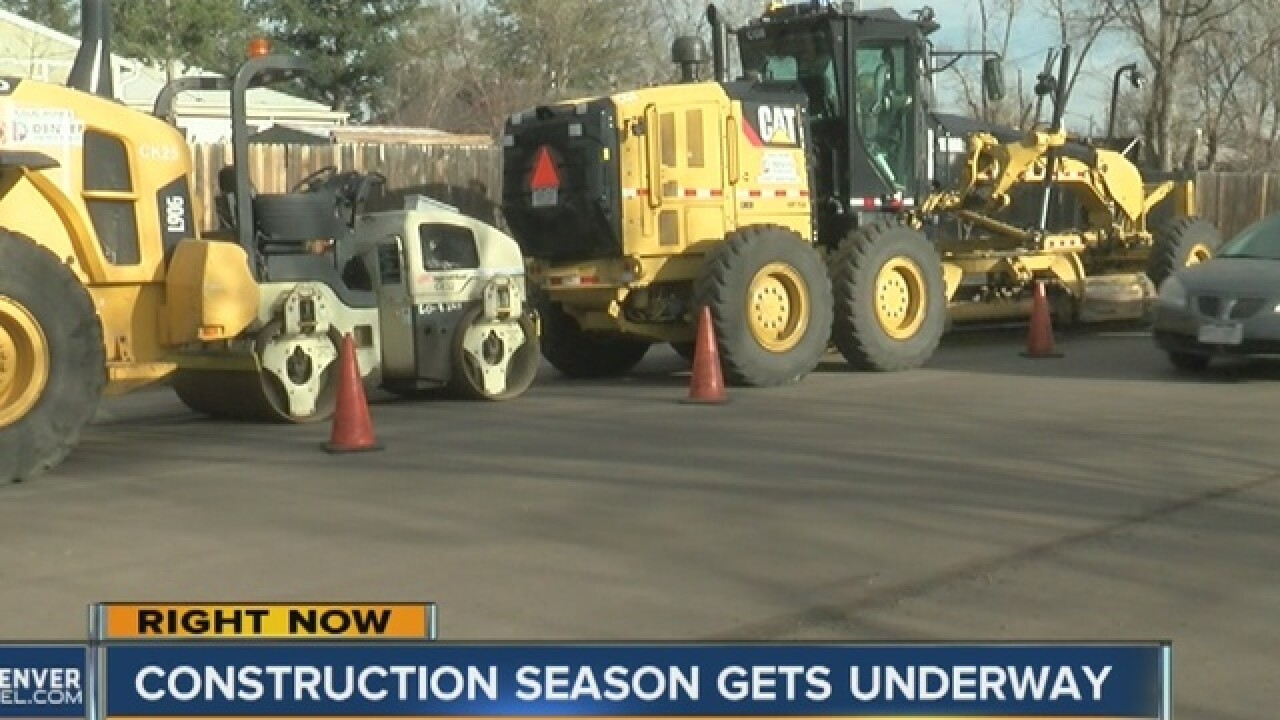 Rocky roads: Crews begin paving city roads