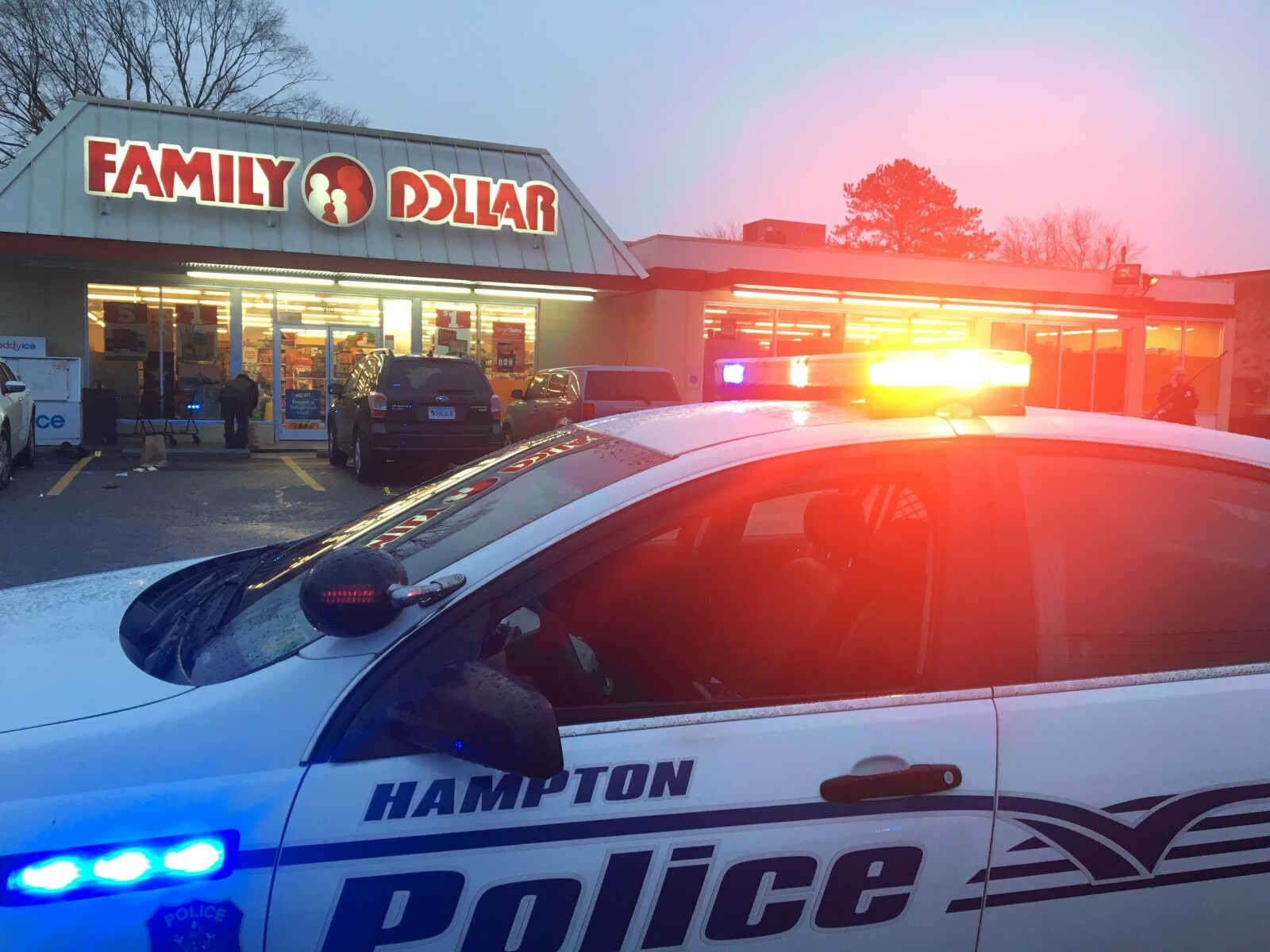 Photos: Two men wanted in connection with Newport News man's homicide at Hampton Family Dollar