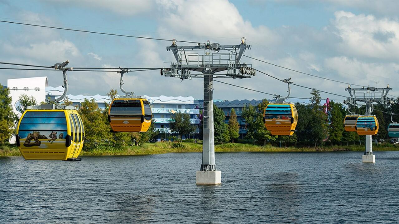 Disney Skyliner gondolas to debut this weekend at Walt Disney World in Orlando