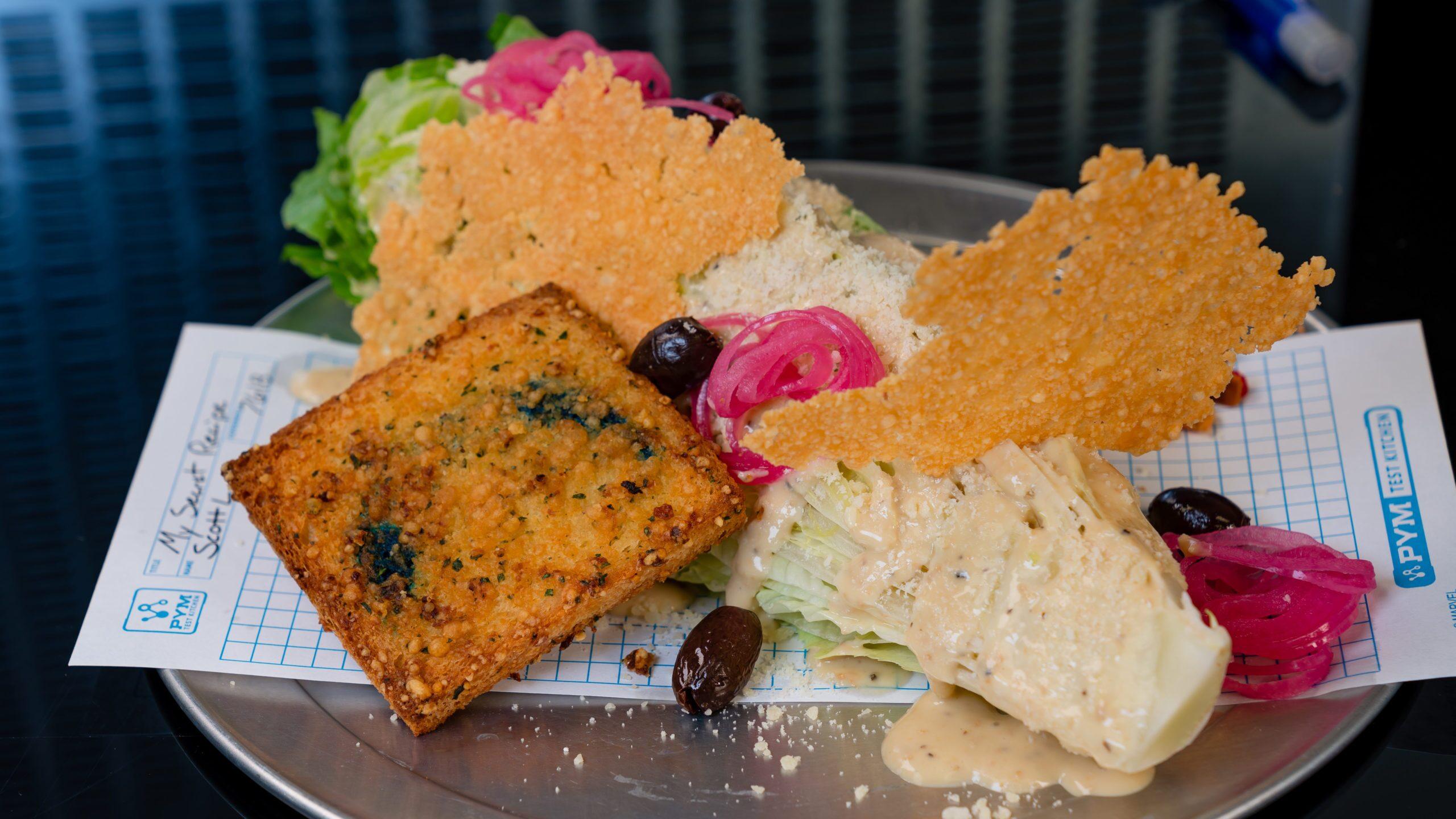 Avengers Campus Food & Beverage Ð Caesar Salad + Colossal Crouton