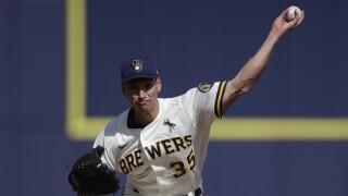 Royals Brewers Spring Baseball