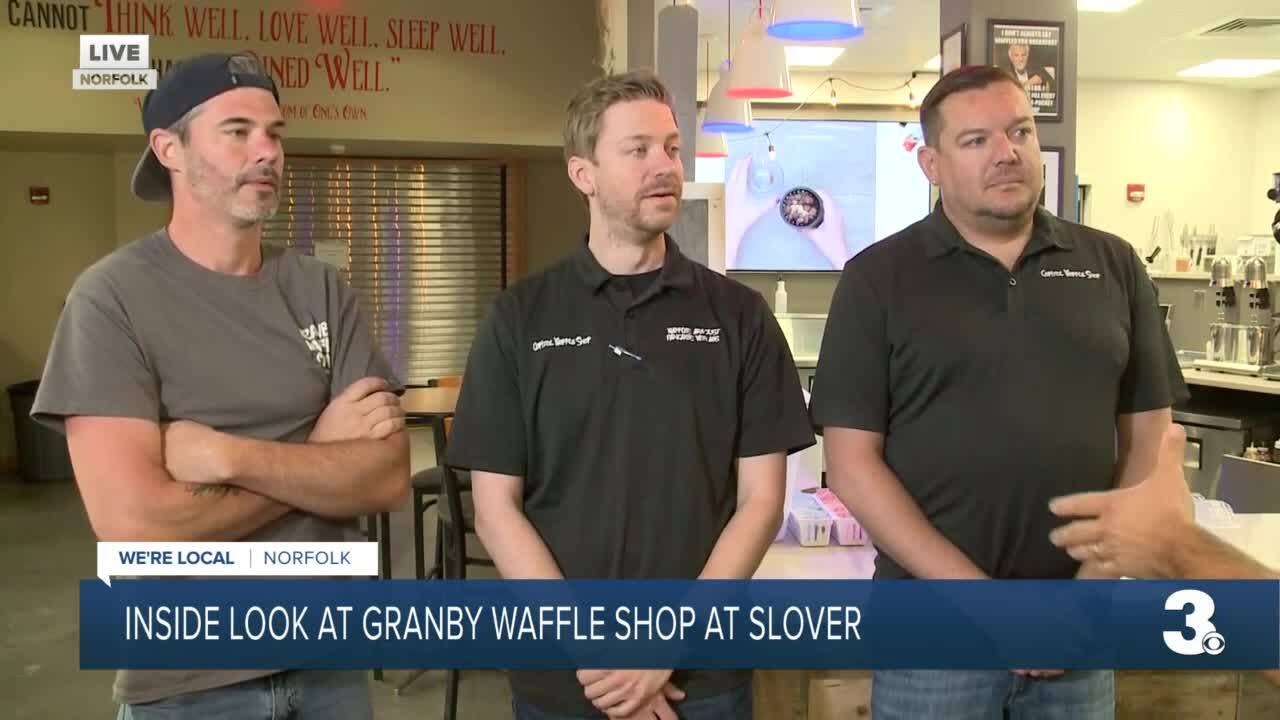 Granby waffle owners