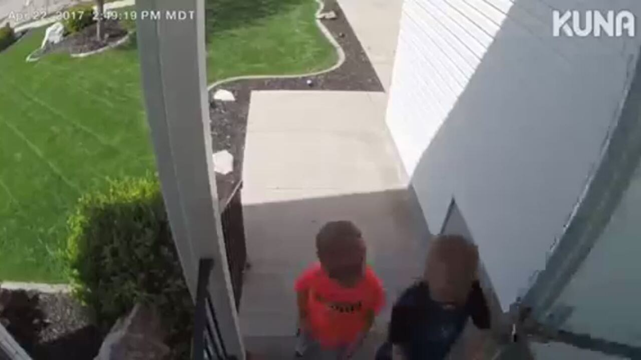 Layton boys caught on video doing 'the right thing todo'